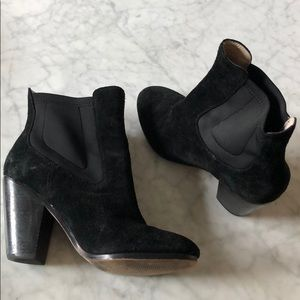 Beautiful black suede boots!
